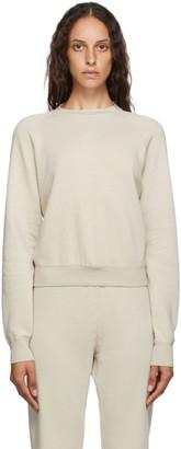 John Elliott Beige Vintage Fleece Sweatshirt