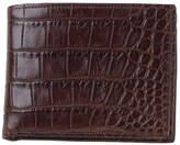 Moore & Giles Slim Alligator Leather Bi-Fold Wallet