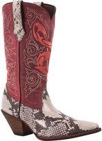 """Durango Women's Boot RD006 12"""" Crush Music Inspired Western"""
