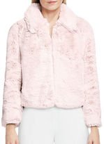 Vince Camuto Faux Fur Bomber Jacket