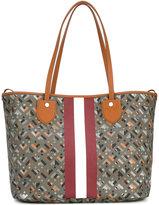 Bally stripe detail tote bag
