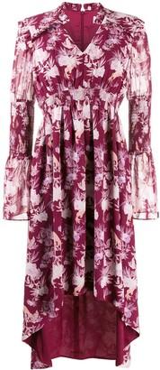 Three floor Felicity floral print dress