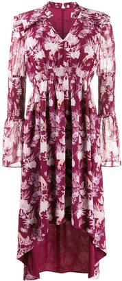 Three floor Felicity floral print dress