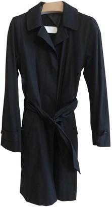 Maison Margiela Black Cotton Trench Coat for Women