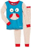 Skip Hop Toddler Girl's 'Zoojamas - Owl' Two-Piece Pajamas