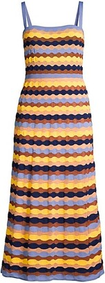 M Missoni Sleeveless Knit Maxi Dress