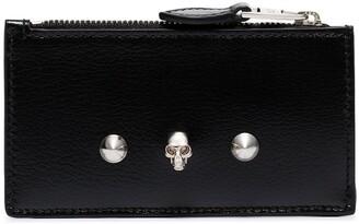 Alexander McQueen Skull Stud Zipped Pouch