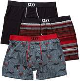 Saxx Men's Underwear-ULTRA BOXER FLY 3 PACK-M
