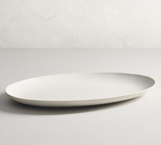 Pottery Barn Mason Stoneware Oval Turkey Serving Platter