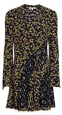 Derek Lam 10 Crosby Women's Cati Mixed Floral Shift Dress