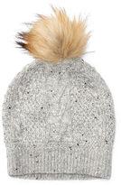 Ralph Lauren Aran-Knit Wool-Blend Beanie