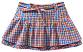 Oilily Blue Check Sproetje Skirt - Infant Toddler & Girls