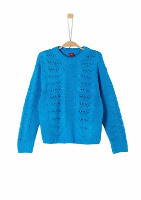 S'Oliver Girls' 66.909.61.2309 Sweater