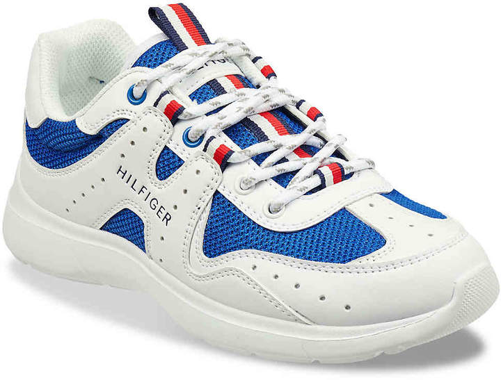 16a528ba78d5 Tommy Hilfiger White Women s Sneakers - ShopStyle
