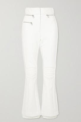 Chloé + Fusalp Paneled Bootcut Ski Pants - White