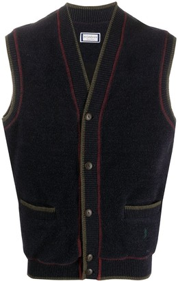 Yves Saint Laurent Pre Owned 1990s Knitted Waistcoat