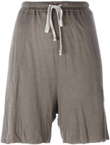 Rick Owens Lilies jersey tie-waist shorts - women - Cotton/Polyamide/Viscose - 38