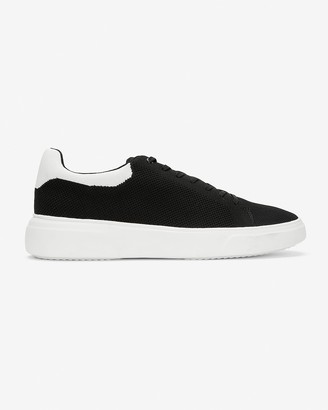 Express Back Tipped Knit Sneakers