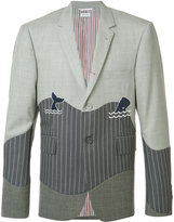 Thom Browne wave blazer