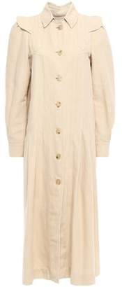 Masscob Slub Linen And Cotton-blend Coat