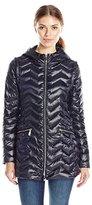 Dawn Levy Women's Lightweight Puffer Packable Jacket