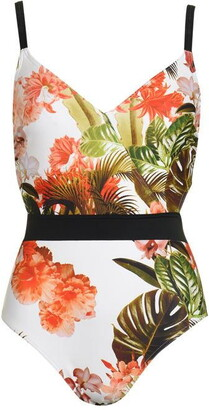 Figleaves Bali Palm Underwired Swimsuit