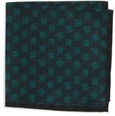 Lanvin Men's Print Silk Pocket Square