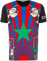 Iceberg Popeye print T-shirt