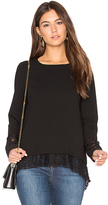 BCBGeneration Boxy Sweater in Black. - size S (also in )