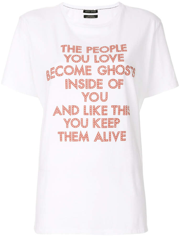 Each X Other printed T-shirt