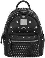 MCM Mini Bee-Boo Leather Backpack