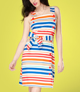 Fred Flare Tulle Striped June Apron Dress