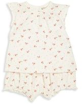 Bonpoint Baby's Two-Piece Cherry Top & Shorts Set