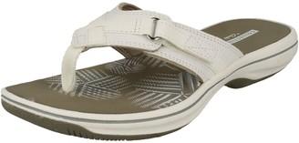 Clarks Women's Brinkley Sea Flip Flops