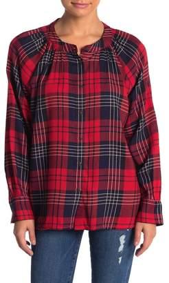 Susina Plaid Button Down Shirt (Regular & Petite)
