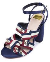 ELOQUII Jules Strappy Block Heel Sandal