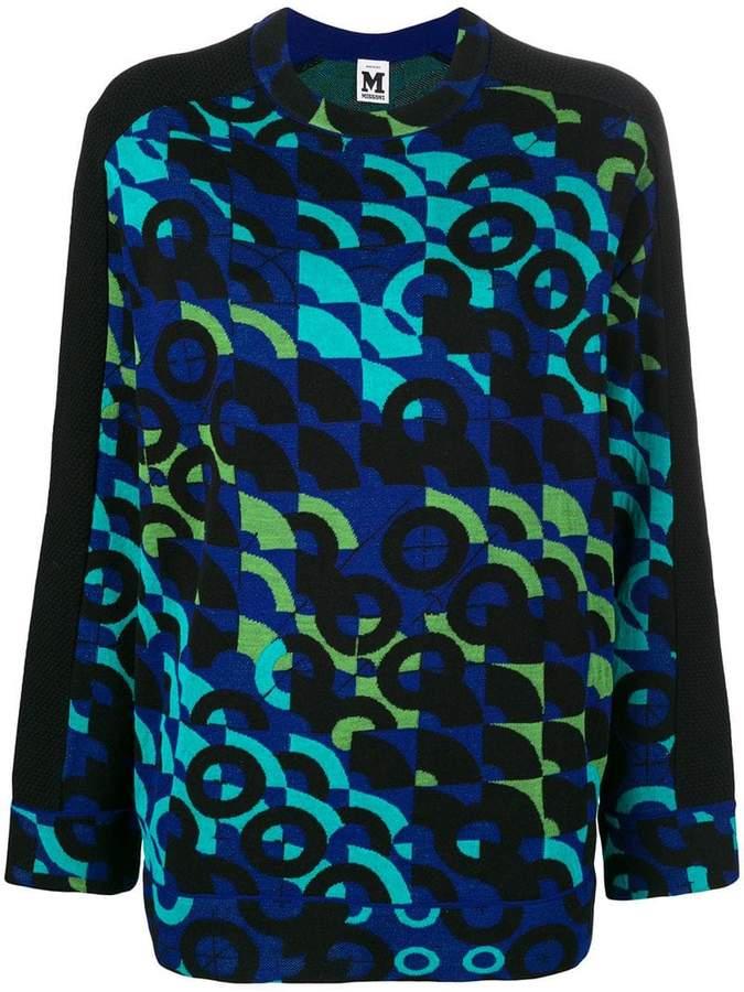M Missoni patterned sweater