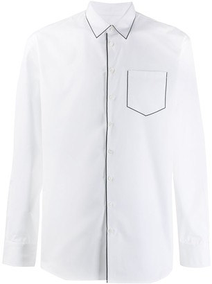 DSQUARED2 Contrast Piping Pocket Shirt