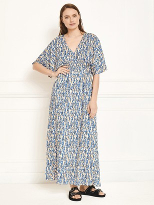 MKT Studio Roman Maxi Dress In Vanilla - XS