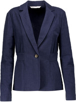 Diane von Furstenberg Gavyn textured stretch-cotton blazer