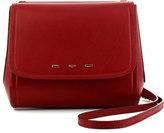 VBH Sabrina Calfskin Saddle Bag, Red