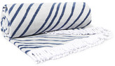 The Beach People Avalon Round Cotton-terry Towel - Blue