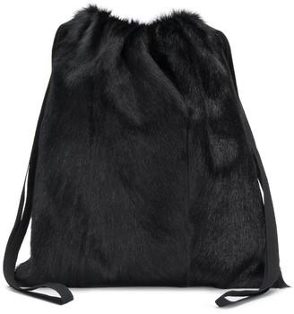 Simonetta Ravizza Furrissima drawstring bag