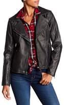 Lucky Brand Asymmetrical Zip Faux Leather Jacket