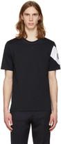 Moncler Gamme Bleu Navy Sleeve Detail T-shirt