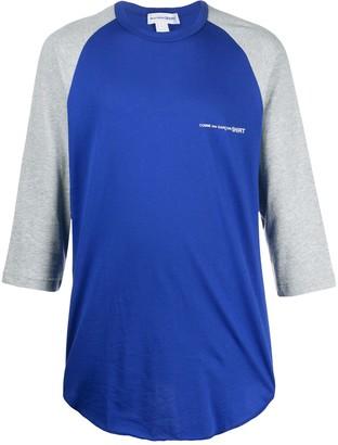 Comme des Garçons Shirt raglan T-shirt