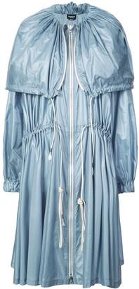 Calvin Klein Drawstring Midi Coat