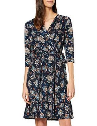Yumi Chintz Floral Jersey Wrap Dress