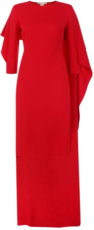Antonio Berardi Cape Back Midi Dress