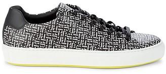 HUGO BOSS Mirage HB Logo Print Tennis Sneakers